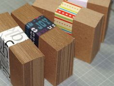 Medium weight chipboard, for those times when you want something sturdy but not too thick. If you like to create assemblage or mixed media ACEOs, or