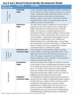 Image result for stages of cultural identity development