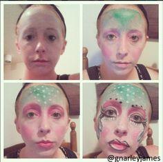 #facepaint #bodyart #makeupbymarley