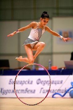 Filipa Siderova of Bulgaria - gala exhibition - Burgas Grand Prix Rhythmic Gymnastics on May 7, 2006