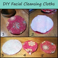 How To Just About Anything: DIY Facial Cleansing Cloths w/ recipe for facewash