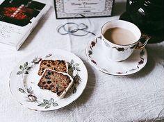 gâteau aux fruits matin