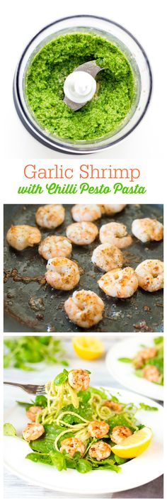 Garlic Shrimp with C