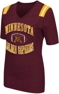 18cac36ee Women s Campus Heritage Minnesota Golden Gophers Distressed Artistic Tee