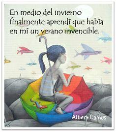Frase célebre de fortaleza -  Albert Camus