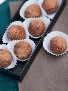 """This is a super easy truffle recipe, with only a few ingredients. In Russia, this truffles are called """"kartoshka"""" - meaning potatoes, that's because they are shaped like potatoes. ...But to me, this looks a bit more appetizing than that. Truffles are moist and rich with chocolate flavor and that little kick of liquor. Feel free to omit liquor, it's totally up to you and will still taste just as fine. You'll need to prepare a Sponge Cake (click on the link for recipe), which can be made a day…"""