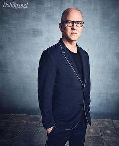"""Ryan Murphy: """"One thing I always do is just tell actors that I'm as afraid as they are, because I can sense that and I feel it, too. I did that with Susan [Sarandon] when we were shooting Feud—I constantly thought she was going to bail. I finally got her to admit that she was afraid of tackling it, and I said, 'Well, I'm afraid, too.'""""   Drama Showrunner Roundtable, photographed by @kouryangelo"""