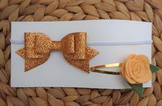 Hair Accessories Set - Bronze by UnderTheCherryTreeAU on Etsy
