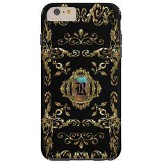 Shellbrooked Elegant Monogram Tough iPhone 6 Plus Case