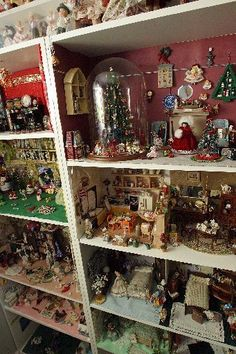 christmas dollhouse scenes - Google Search