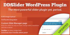 DDSliderWP - 11 Transitions - Slide Manager Panel - CodeCanyon Item for Sale