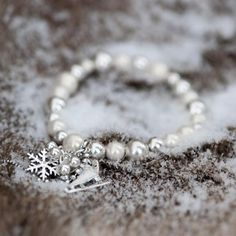 Winter Dream armband met schaats