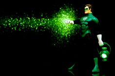 In Blackest Night. Hal Jordan, Green Lantern of sector 2814, stands with his lantern in hand, ready for duty.