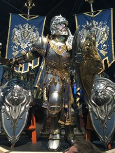 Awesome WARCRAFT Movie Armor on Display at Comic-Con — GeekTyrant