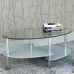 COFFEE TABLE EXCLUSIVE 3-LAYER DESIGN WHITE VDXLAUCTS559