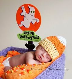 Newborn Photography Props, Newborn baby shower, baby shower gifts, baby gifts, baby girl, baby boy, crochet baby gift, newborn photography, Halloween baby Hats, Halloween baby, pumpkin baby, candy corn