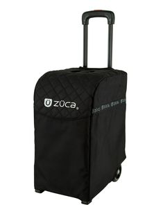ZUCA Beauty Caddy Pouch Pair and Padded Seat Cushion Bundle for Any Sport or Pro Bag Sport Artist