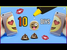 5-Minute Crafts To Do When You're BORED! 10 DIY Emoji Projects You NEED To Try! Life Hacks & DIYs! - YouTube