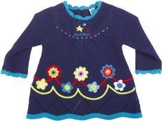 Vestido tricot night picnic, para nina - tuc tuc