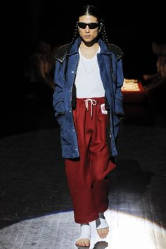 Umit Benan Fall 2016 Menswear Fashion Show