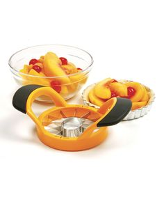 Yellow 12-Section Fruit Slicer