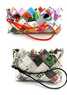 Bolsas de papel tejido on 1001 Consejos http://www.1001consejos.com/wp-content/uploads/2012/04/bolsas-de-papel-tejido-de-colores.jpg