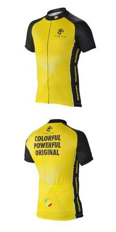 Team ICG® Radtrikot CbC gelb: Unser CbC (Coach by Color®) Kurzarm Radtrikot in gelb.