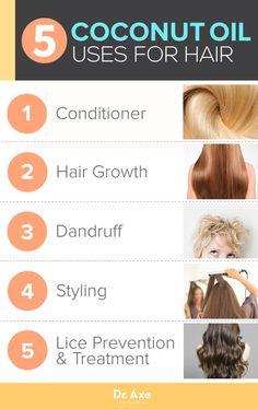 Coconut Oil Hair Uses