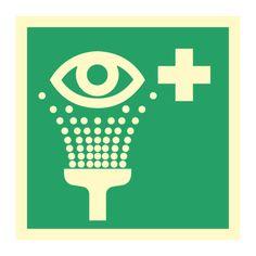 øyeskylling piktogram - Kjøp Nødskilt online Symbols, Letters, Design, Pet Store, Sign, Eyes, Letter, Lettering