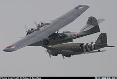 Consolidated PBY-5A Catalina (28) & DC-3 aircraft picture.