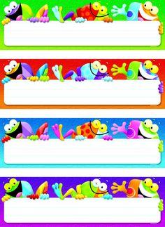 Frog Nameplates-School Specialty