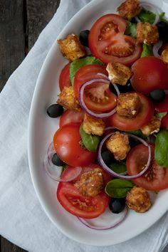 Simple Food: Tomato Salad with Feta Cheese ♥ Лесна храна: Салата от домати и фета сирене | 79 Ideas