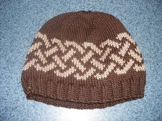 Celtic Knot Hat by Joanie Newsome