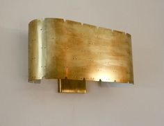 Rewire Custom Shield Sconces   From a unique collection of antique and modern wall lights and sconces at https://www.1stdibs.com/furniture/lighting/sconces-wall-lights/