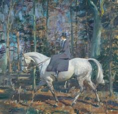 "Munnings painting from exhibition ""The Horse at Harewood"""