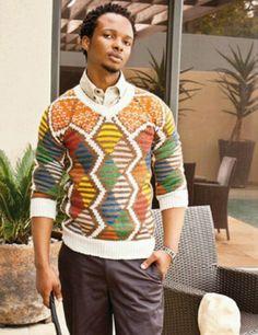 xhosa knit design Xhosa, Knitting Designs, Christmas Sweaters, African, Fabric, Outfits, Beautiful, Style, Fashion