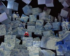 Everest. The Dallas Opera. Scenic design by Robert Brill. More