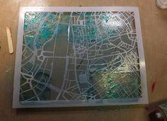 Gelli Plate & Artistcellar Stencils | Artistcellar