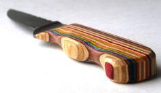 Recycled Skateboard Art Knife by SecondShot