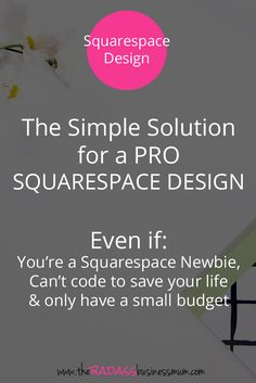 A Squarespace Website Design Kit is the perfect solution if you want your Squarespace site to stand apart from the crowd.