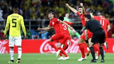 John Stones explains picture of him appearing to taunt Colombia's Wilmar Barrios - Sports News & Updates Penalty Shoot Out, New Defender, England Fans, John Stones, Hull City, First Football, Transfer Window, Last Game, Man United