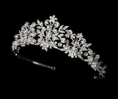 Neidy Swarovski Crystal and White Pearl Wedding Bridal Tiara Fairytale Bridal Tiara http://www.amazon.com/dp/B008K2O7AY/ref=cm_sw_r_pi_dp_F50gub0W13RF0