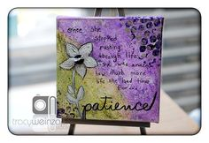 """Patience"" by Tracy Weinzapfel"
