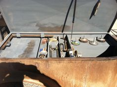 Welding Stoarge Truck Flatbeds, Truck Tool Box, Truck Bed, Welding Beds, Welding Tools, Welding Projects, Welding Trailer, Welding Trucks, Welding Careers