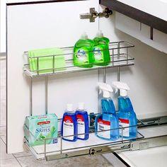 Detergent Pull Outs #detergente #storage #storagesolution