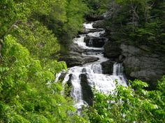 Best Waterfall in NC!!  Waterfalls, North Carolina, Family, Outdoors, Cullasaja Falls, The Family Outdoors, Camping, Hiking, Blue Ridge, Smoky Mountains