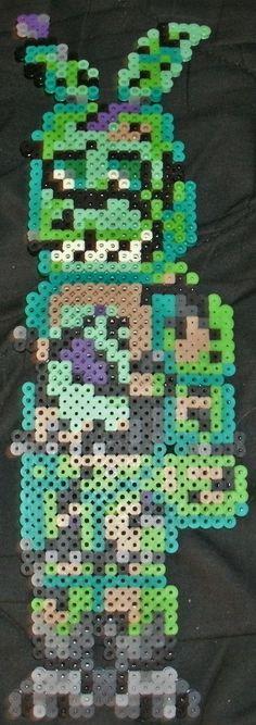 Springtrap by Pumpkin-King-Zak.deviantart.com on @DeviantArt Springtrap fnaf hama / perler bead