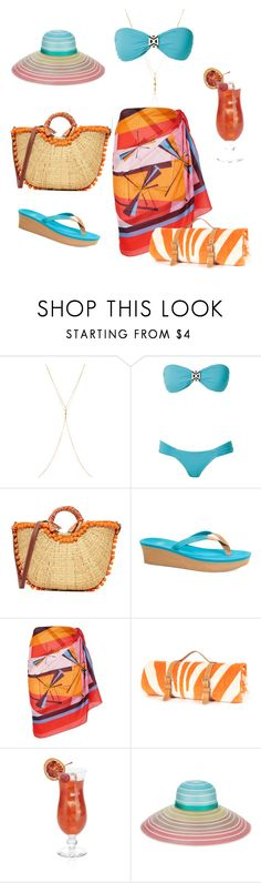 """""""Caribbean lifestyle"""" by marjolein-bonaire ❤ liked on Polyvore featuring Chan Luu, SUB, Sam Edelman, UGG, Emilio Pucci, Crate and Barrel and Missoni"""