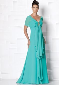 Cameron Blake by Mon Cheri is a classic, refined collection of mother of the bride dress sets, special occasion gowns & ladies dress suits. Wedding Party Dresses, Bridesmaid Dresses, Bride Dresses, Dress Party, Dress With Shawl, Mother Of The Bride Gown, Mother Bride, Bride Groom Dress, Chiffon Dress Long