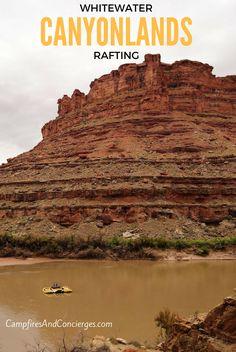 Whitewater Rafting Colorado River Canyonlands National Park Moab, Utah, USA
